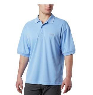 Columbia 哥伦比亚 男士POLO衫 蓝色 S