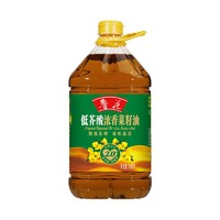 鲁花  酸浓香菜籽油 3.68L *3件
