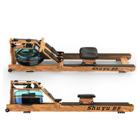 舒宇 专利尊享款 进口白蜡木 划船机 复古色 8档调节