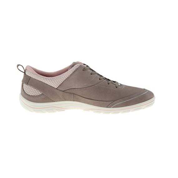 ecco 爱步 Arizona 女士跑鞋 棕色/灰色 37