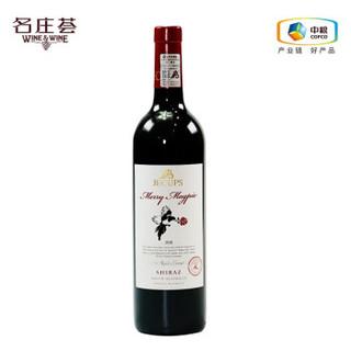 jecups吉卡斯 白鹊喜西拉澳大利亚干红葡萄酒 750ml
