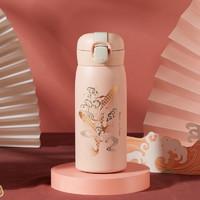 国潮中国风创意保温水杯子瓶女大容量学生男士弹跳盖个性潮流便携