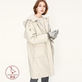 super.natural SNURW029060012 女士中长款羽绒服外套