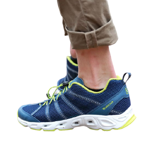 TOREAD 探路者 徒步系列 男士溯溪鞋 KFEF81394  铁蓝灰/明黄绿 39