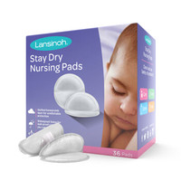Lansinoh/兰思诺进口乳垫防溢防漏哺乳期一次性超薄溢奶垫100片*2 *2件