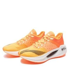 LI-NING 李宁 绝影Essential 男士跑鞋 ARHQ258-1 荧光蜜橙/荧光釉橙 40