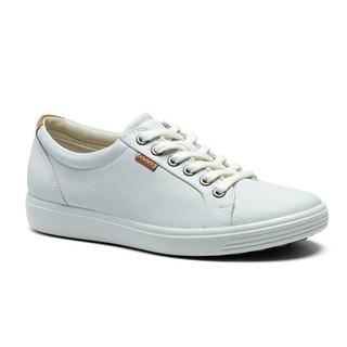 ecco 爱步 柔酷7号系列 女士休闲运动鞋 43000301007 白色 36