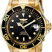 Invicta 男士 8929 Pro Diver Collection 自动金色手表