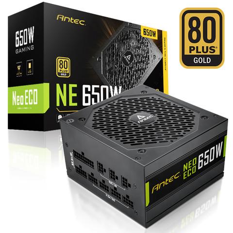 Antec 安钛克 金牌650W电源额定 全模组主机电源