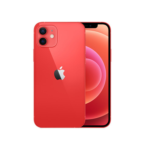 Apple iPhone 12 128G 红色 移动联通电信5G全网通手机