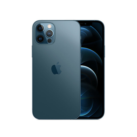 Apple iPhone 12 Pro (A2408) 256GB 海蓝色 支持移动联通电信5G 双卡双待手机