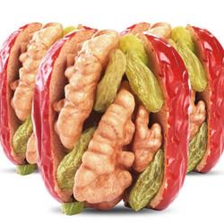 红枣夹核桃葡萄干500*1袋和田枣夹核桃仁