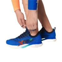 XTEP 特步 騛速160X 男士跑鞋 980319110682 蓝白/橙红 39