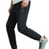 XTEP 特步 男士运动长裤 880229490112 黑 S
