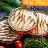 拉脱维亚进口橄榄油浸烟熏沙丁鱼海鲜罐头熟食下饭菜深海鱼即食下酒菜即食罐头120g3罐 一份三罐