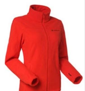TOREAD 探路者 TRAVELAX旅行系列 女士冲锋衣 40661 丽春红 S