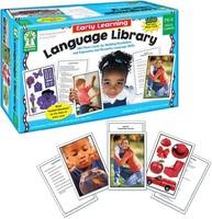 Carson Dellosa Key Education 早期学习语言库学习卡 (845036) 原版