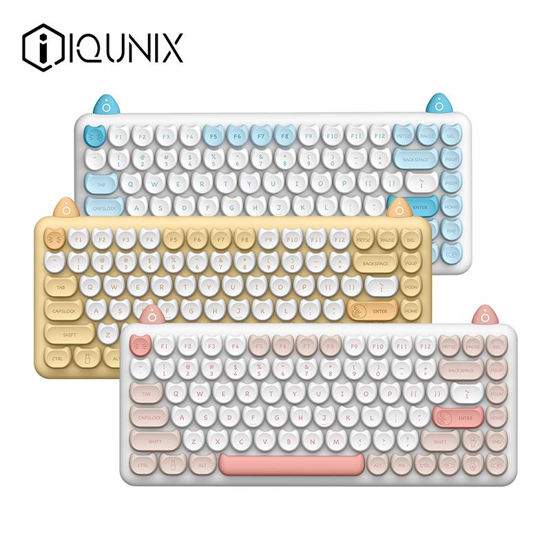 IQUNIX 猫系列 M80 84键 蓝牙双模机械键盘 凯华轴体