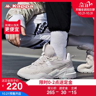 Kappa 卡帕 K09Y5MM79D 串标男女复古跑鞋