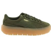 PUMA 彪马 Platform Trace 女士休闲运动鞋 365830-03 橄榄绿 38