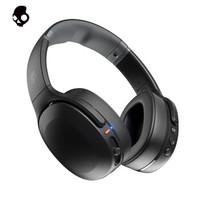 骷髅头(Skullcandy)Crusher EVO 摧毁者二代  重低音蓝牙耳机 无线头戴耳机 震动功能低音可调 钻石黑