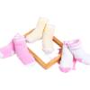 Bornbay 贝贝怡 193P2073 婴儿加厚保暖棉袜三双装 多色 1-2岁