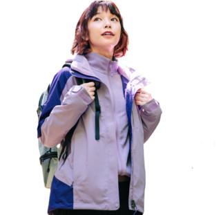 KAILAS 凯乐石 中性冲锋衣裤 KG120383 丁香紫/格兰紫 S