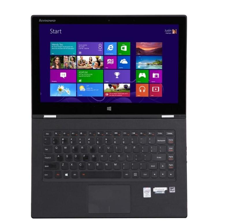 Lenovo 联想 YOGA系列 YOGA2 Pro 13.3英寸 笔记本电脑 酷睿i7-4500U 8GB 256GB SSD 核显 银色