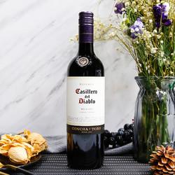 Casillero del Diablo 红魔鬼 梅洛干红葡萄酒 750ml*6支