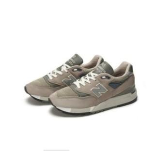 new balance 998系列 男士跑鞋 M998 浅灰 40