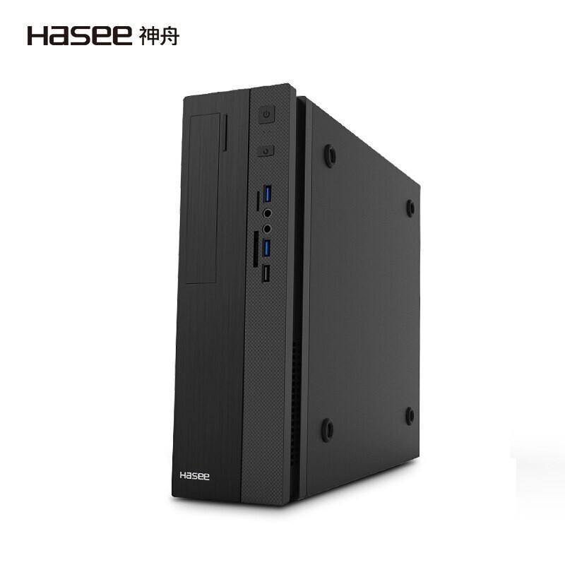 HASEE 神舟 新瑞X20-10481S2W 台式机(i5-10400、8G、256G+1TB)