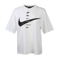 NIKE 耐克 女士运动T恤 CU5683-100 白色 M