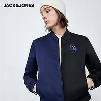 20日0点、必买年货:JACK JONES 杰克琼斯 219321558 男士拼色刺绣棒球服