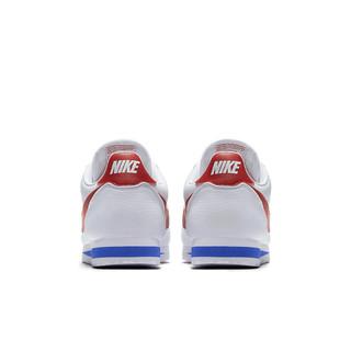 NIKE 耐克 Classic Cortez 男士跑鞋 749571-154 白/校园红/校园宝蓝 42