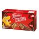雀巢 脆脆鲨 巧克力威化饼干 24+8条 640g *2件 46元包邮(双重优惠)