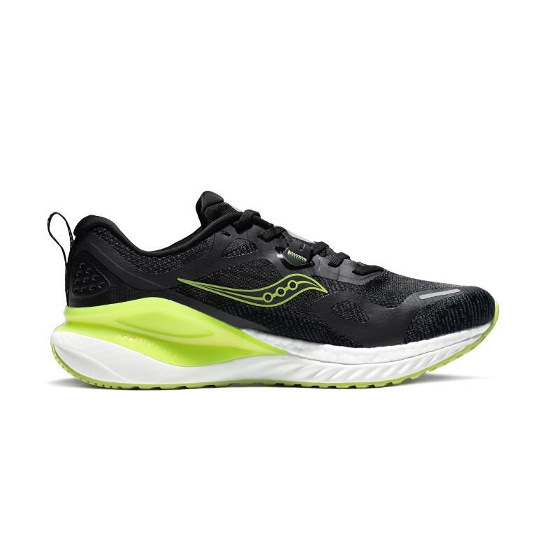 saucony 索康尼 Phoenix Inferno 男士跑鞋 S28150-03 黑绿 43