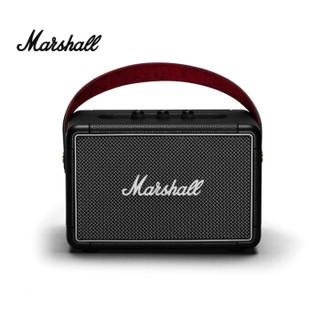 马歇尔(Marshall)Kilburn II音箱无线蓝牙便携式户外防水音响重低音 黑色