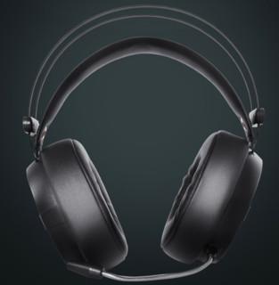 HP 惠普 H160G 头戴式耳机 黑色