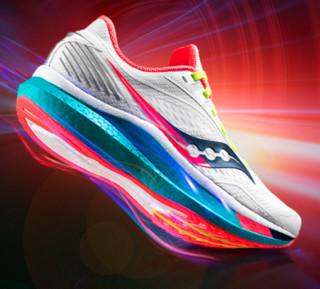 saucony 索康尼 Endorphin Speed 男士跑鞋 S20597-10 白色 40