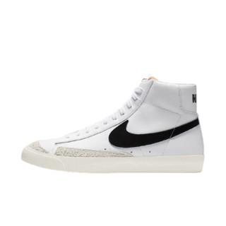 NIKE 耐克 BLAZER MID '77 VNTG 男士运动板鞋 BQ6806-100 白灰黑 41