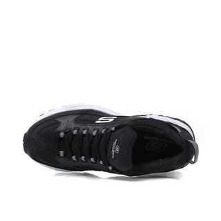 SKECHERS 斯凯奇 Bobs Squad 女士休闲运动鞋 31363/BKWP 黑粉白 37