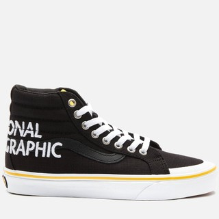 限尺码 : VANS 范斯 X National Geographic 国家地理 SK8-Hi 联名高帮板鞋 *2件