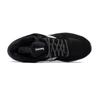 saucony 索康尼 Grid 9000 男士跑鞋 S70077-49 黑/白 42
