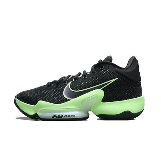 NIKE 耐克 Zoom Rize 2 男士篮球鞋 CT1498-001 黑色/绿色 43