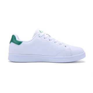 XTEP 特步 男士运动板鞋 983219319266 白绿 42