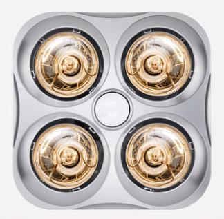 VATTI 华帝 VF212X-DM816 嵌入式灯暖浴霸 银色 1146W