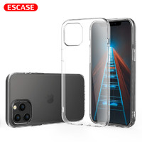 ESCASE iPhone12全系列 全包透明TPU手机壳