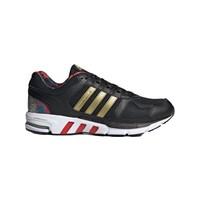 adidas 阿迪达斯 Equipment 10 中性跑鞋 FW4334 1号黑色/金/浅猩红 36