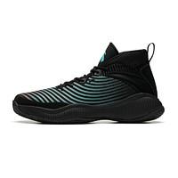 ANTA 安踏 星轨系列 星轨2代 篮球鞋 (黑/水绿/红、42)
