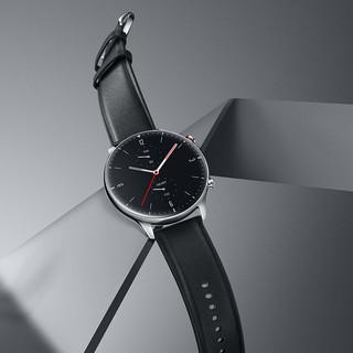 AMAZFIT 华米 GTR系列 GTR 2 智能手表 1.39英寸 铝合金 黑色 硅胶  4GB (ECG、GPS、扬声器)